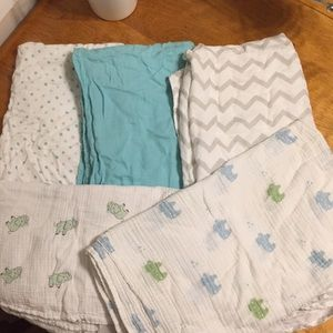 Baby swaddle blankets (5)